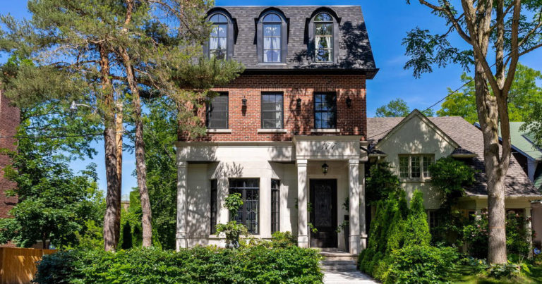 This $6 million home in Toronto is a goth's dream house