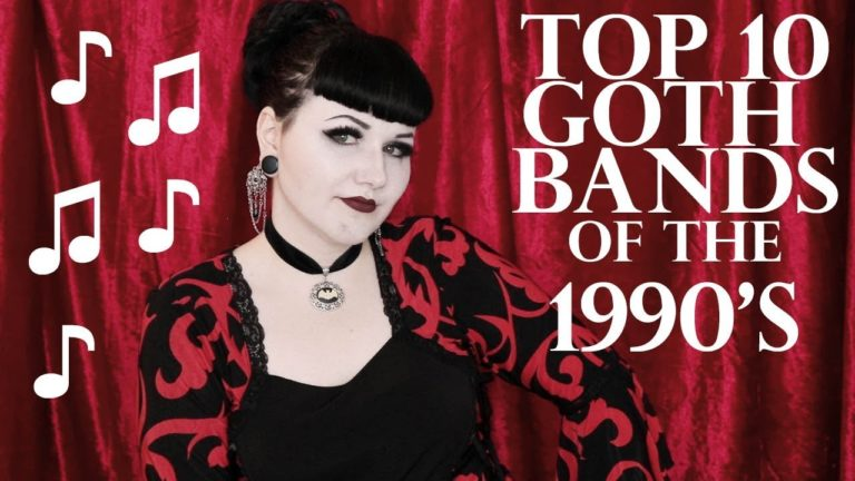 Top 10: Goth Bands of the 1990's
