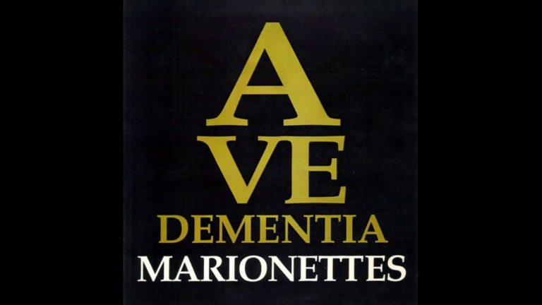 The Marionettes – Ave Dementia (1990) Gothic Rock – UK